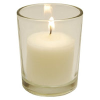 Lumabase Unscented Candles with Holders