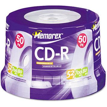 Imation Corporation Memorex 04563 50-pk. CD-R 80 Spindle