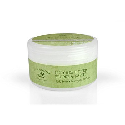 Pre de Provence Enriched, Soothing, Moisturizing 10% Shea Butter Body Butter - Lavender