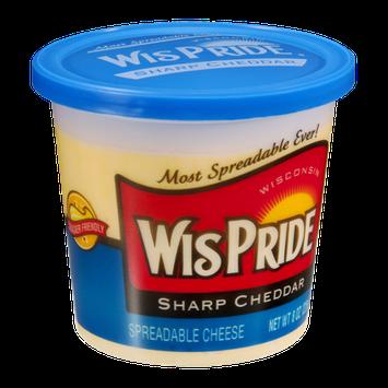 WisPride Sharp Cheddar Spreadable Cheese