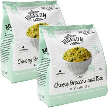 Augason Farms Instant Cheesy Broccoli and Rice, 11.29 oz