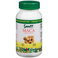 Sanvall Enterprises, Inc. Sanar Naturals Maca Lepidium Meyenii Dietary Supplement Capsules, 500mg, 60 count