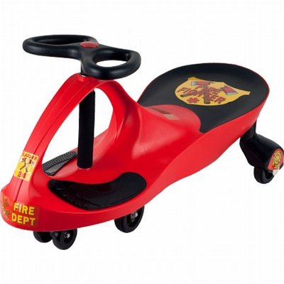 Lil' Rider Rescue Firefighter Wiggle Ride-On Car Red Ages 3+