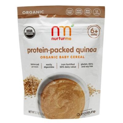 NurturMe Organic Baby Cereal, Quinoa Organic Cereal, 3.7 oz