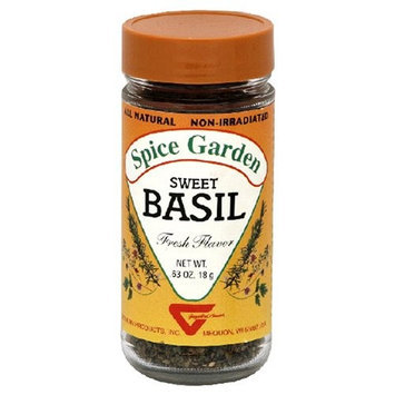 Spice Garden Sweet Basil, .625-Ounce Jar (Pack of 8)