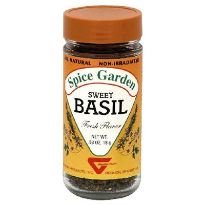 Spice Garden Sweet Basil, .625-Ounce Jar (Pack of 8)