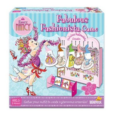 Briarpatch Fancy Nancy Fabulous Fashionista Game Ages 5+, 1 ea