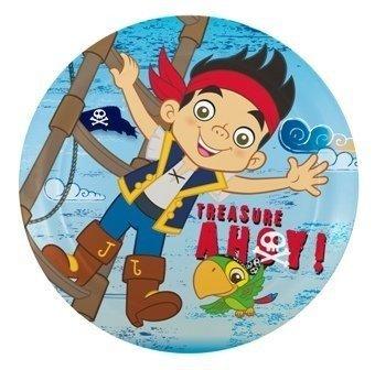 Zak Designs Jake and the Neverland Pirates Kids Plates