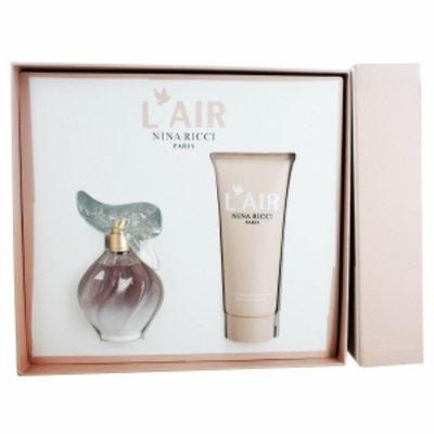 Nina Ricci L'air Du Nina Ricci Gift Set for Women, 1.7oz, 2 Piece, 1 set