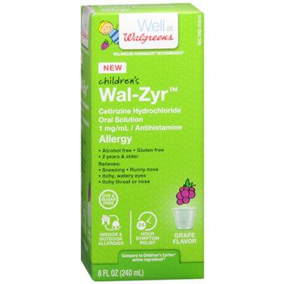 Walgreens Child Liquid Sugar Free Grape