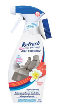 Handstands Refresh Your Car Carpet and Upholstery Cleaner 23oz. Spray Hawaiian Sunrise Scented