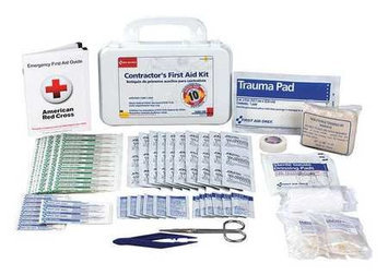 First Aid Only First Aid Kit (Plastic, 96 Pieces). Model: 9300-10PGR