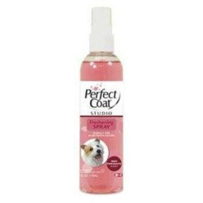 8In1 Pet Products Perfect Coat Freshening Spray, Pomegranate Scent, 4-Ounce (P-82640)