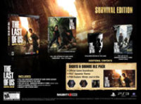 Naughty Dog The Last of Us Survival Edition