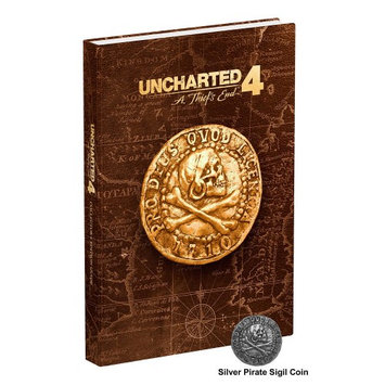 Prima Publishing Uncharted 4: Thiefs End Collectors Edition Guide Book [BK]