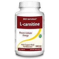 Best Naturals - L-Carnitine 1000 mg. - 120 Tablets