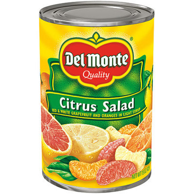 Del Monte® Citrus Salad with Red & White Grapefruit Sections in Light