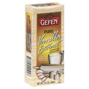 Gefen Pure Vanilla Extract, Passover, 2-Ounce (Pack of 6)
