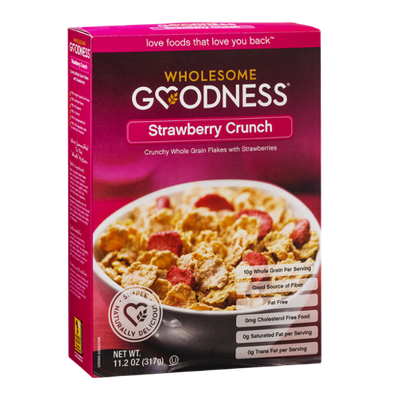 Wholesome Goodness Strawberry Crunch