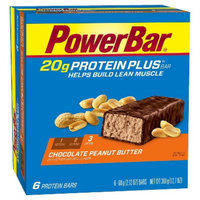 PowerBar Protein Plus 20g Chocolate Peanut Butter Bar - 36 Count