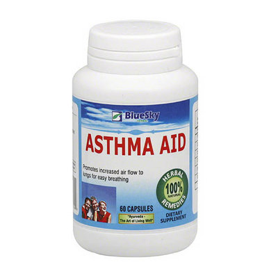 BlueSky Herbal Asthma Aid Herbal Supplements