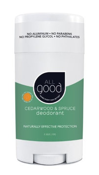 All Good Deodorant Cedarwood & Spruce Elemental Herbs 2.5 oz Stick