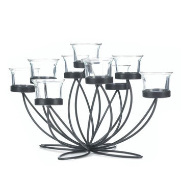 Koehlerhomedecor Iron Bloom Candle Centerpiece