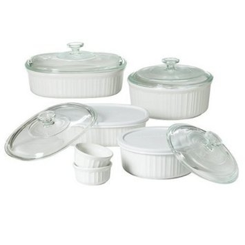 CorningWare 12 piece French White Bake Set