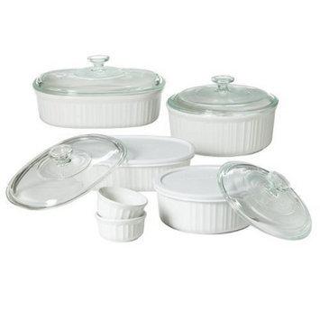 CorningWare 12 piece French White Bake Set
