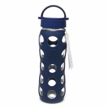 Lifefactory Glass Water Bottle with Silicone Sleeve