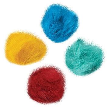 Petedge ZW3460 80 Zanies Fur Balls Canister 80 Pcs