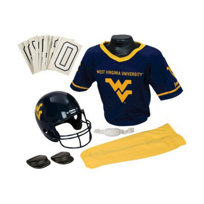 Franklin Sports West Virginia Deluxe Uniform Set - Medium