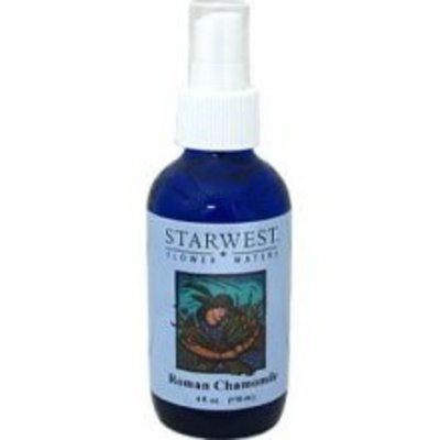Starwest Botanicals Flower Waters Roman Chamomile -- 4 fl oz