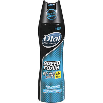 Dial® For Men Speed Foam Arctic Refresh Body Wash