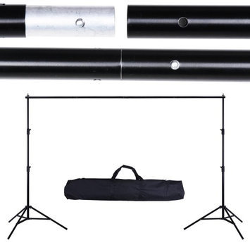 Yescomusa Oem Professional 9.8x8.5'(3x2.6m) Telescopic Photo Backdrop Background Support Kit