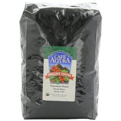 Cafe Altura Organic Espresso Roast Whole Bean, 64-Ounce