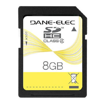 Dane-Elec Secure Digital High Capacity (SDHC) Memory Card