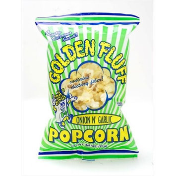 Golden Fluff 30003 Small Onion-Garlic Popcorn Case of 48 x .75 oz.