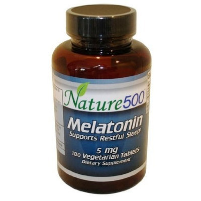 Nature 500 MELATONIN 5mg 180 Tablets