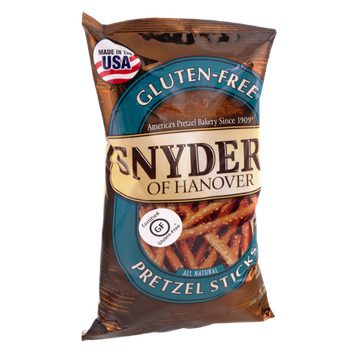 Snyder's of Hanover Pretzel Sticks All Natural Certified Gluten-Free GF