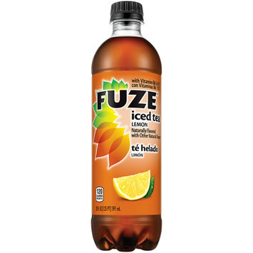 Fuze Lemon Iced Tea 20 Oz