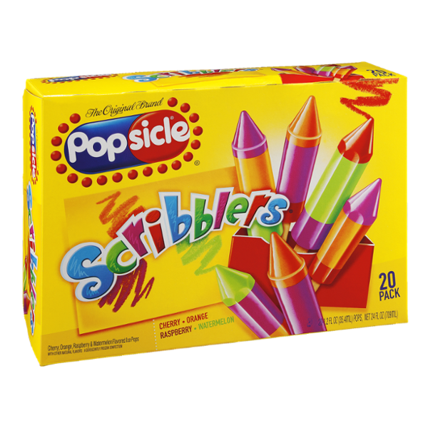 Popsicle Scribblers 20 ct