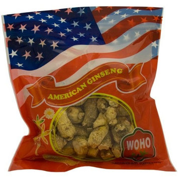 WOHO Short Extra Large American Ginseng Roots 8 oz bag