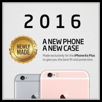 iPhone 6s Plus Case, Spigen® [Ultra Hybrid] AIR CUSHION [Crystal Clear] Clear back panel + TPU bumper for iPhone 6 Plus (2014) / 6s Plus (2015) - Crystal Clear (SGP11644)