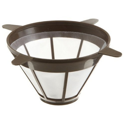 Tops Mfg Co Inc Perma-Brew 3 Year Re-useable Coffee Filter, Cone