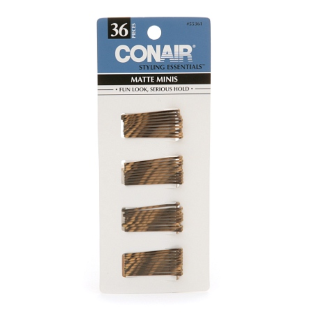 Conair Brush Styling Essentials Matte Minis Bobby Pins