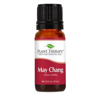 Plant Therapy Essential Oils May Chang (Litsea Cubeba). 10 ml (1/3 oz). 100% Pure, Undiluted, Therapeutic Grade.