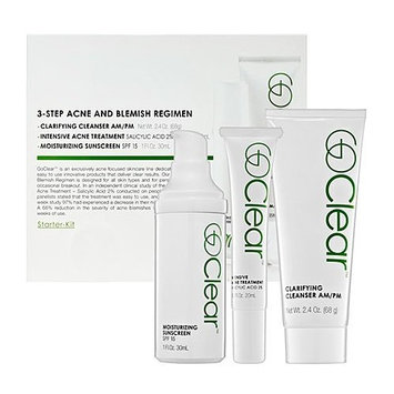 GoClear 3-Step Acne and Blemish Regimen