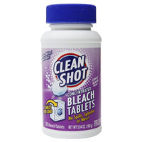 Clean Shot Concentrated Bleach Tablets, Country Meadow, 32 ea