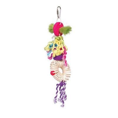 Prevue Hendryx Stick Staxs Spindles in Spokes Bird Toy